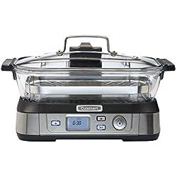 Cuisinart STM1000E Cookfresh Cuiseur Vapeur Digital Acier Brossé Inoxydable 5 L 1800 W