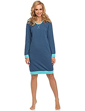 Cornette Damen Nachthemd 652 2016