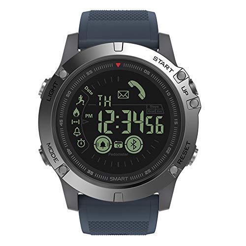 TianranRT Zeblaze VIBE 3 Smart Sport Watch Wasserdicht Wecker Kamerad CameraFor IOS/Android (Blau)