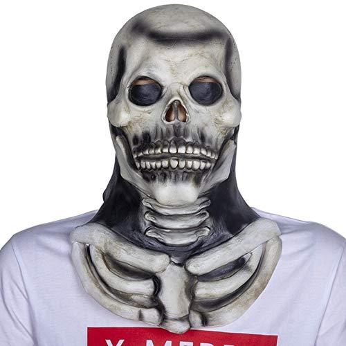 WULIHONG-MaskeScary Movie Maske Latex Vollkopf Horror Halloween Maske Latex Maskenx14009a (Halloween-rob Zombie-full Movie)