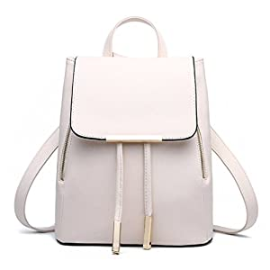 41QI5gQyC5L. SS300  - TIBES Small Daypack mochila impermeable casual para las mujeres/niñas Beige