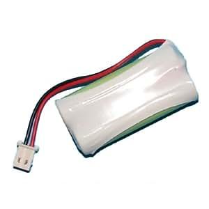 Batterie pour téléphone portable AT&T-Lucent EL52203 Ni-MH, 2,4 Volt, 750 mAh - Batterie Ultra Haute-Capacité - Batterie de remplacement pour Téléphone portable At&t BT191545