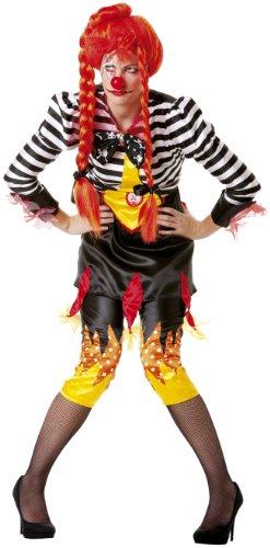 Freaky Clown Kostüm - Cesar-B911-Kostüm-Kostüm-Clown Freaky