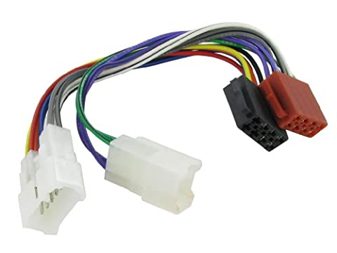 XtremeAuto® ISO Stereo Wiring adapter harness for TOYOTA / LEXUS. For use with aftermarket stereos.
