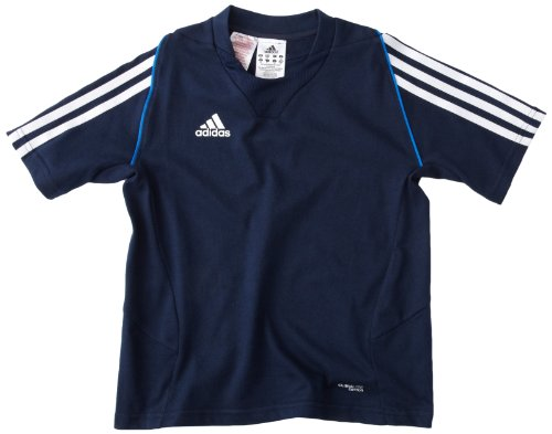 adidas Kinder Trainingsshirt T12 Team Short Sleeve, Collegiate Navy/Air Force Blue, 140, X34286