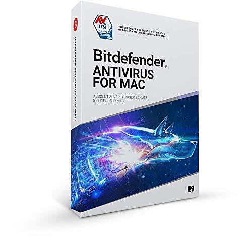 Bitdefender Antivirus for Mac - 1 Gerät | 1 Jahr Abonnement | Mac Aktivierungscode per Post