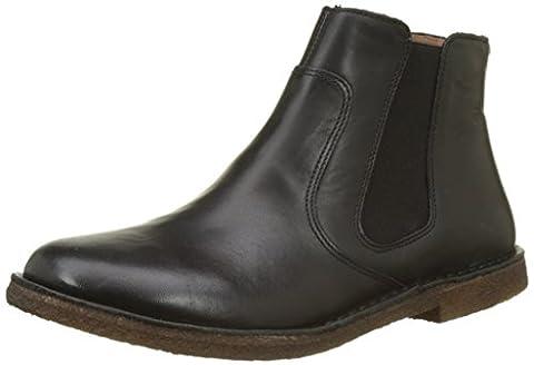 Kickers CREBOOTS, Chelsea Boots, Schwarz (Noir), 40 EU