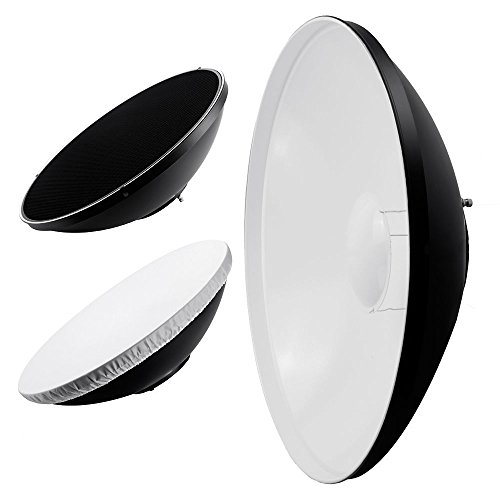 phot-r-22-inch-56-cm-universal-reflector-egg-crate-honeycomb-grid-beauty-dish-with-bowens-s-type-mou