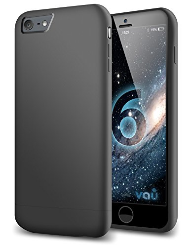 vau Snap Case Slider - zweigeteiltes Hard-Case für Apple iPhone 6 (matte black)