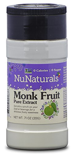 Price comparison product image NuNaturals - LoSweet PremLo Han Guo Extract (Monk Fruit) - 0.71 oz.