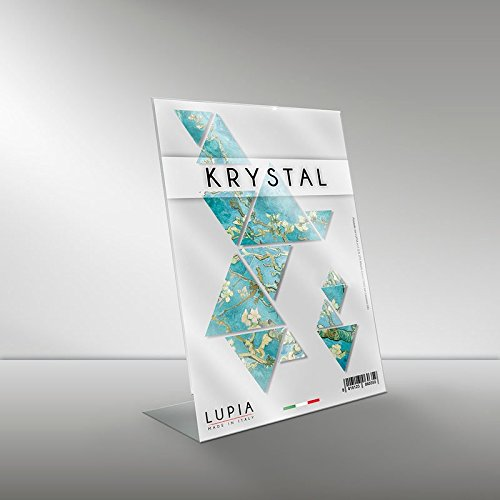 Portadocumenti in plexiglass krystal 18x24 cm verticale