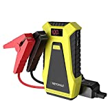 VETOMILE Jump Starter 12V 12000 mAh, 500A Avviatore di Emergenza per Auto (Fino a Motore 3.0L Gas,2.0L Diesel),Batteria Esterna con Doppie Porte USB(5 V 2.1A / 1.0A),Booster