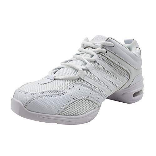 Yudesun Zapatos Aire Libre Deportes Danza Mujer - Mujeres Lona Cordones Suela de Goma Zapatillas Moda...