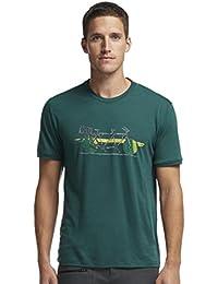 Icebreaker Herren T-Shirt Tech Lite Short Sleeve Branch Bike