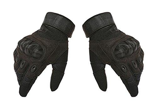 Hikong Herren Taktische Einsatzhandschuhe Handschuhe Sport Outdoor Fitness Training Fahrrad Motorrad Army Gloves Vollfinger 3 (Elf Kampf Kostüm)