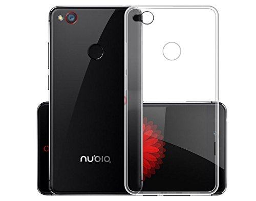 Deesos ZTE Nubia Z11 Mini Hülle Shock-Absorption Bumper Tasche Schutzhülle Case Cover Crystal Clear Flexible Slim Soft TPU Anti-Scratch Hülle für Nubia Z11 Mini