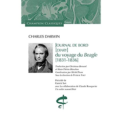 Journal de bord (Diary) du voyage du Beagle 1831-1