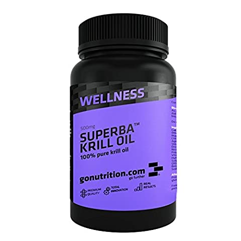 GoNutrition Superba Krill Oil Tablets - 180 Tablets