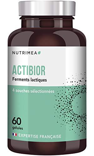 Probiotique 5,7 x 60 Milliards d'UFC par pilulier - ACTIBIOR - composition multi-souches dont...