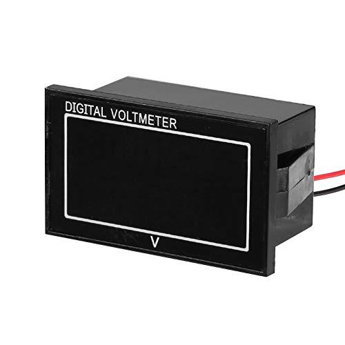 JUNERAIN Digitales Spannungsmessgerät Auto Spannungsmesser Voltmeter (Grün)