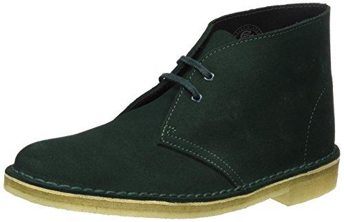 Clarks Originals, Desert Boots Femme Vert (Dark Grün)