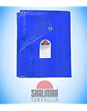 Shalimar Gold Virgin HDPE Tarpaulin 200 GSM Blue Size (5ft x 7ft) (Size Includes Reinforced Edges on All Four Sides for Extra Strength)