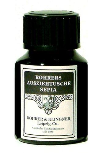 Rohrer & Klingner Encre de Chine sépia 50 ml