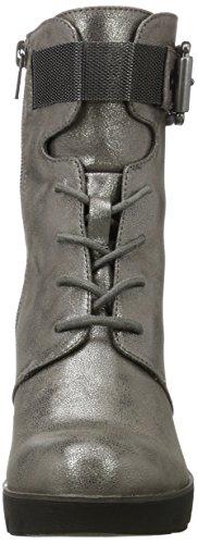 Bugatti Damen 411355325900 Stiefel Silber (Metallic)