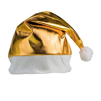 DISOK – Gorro Papa Noel Gold