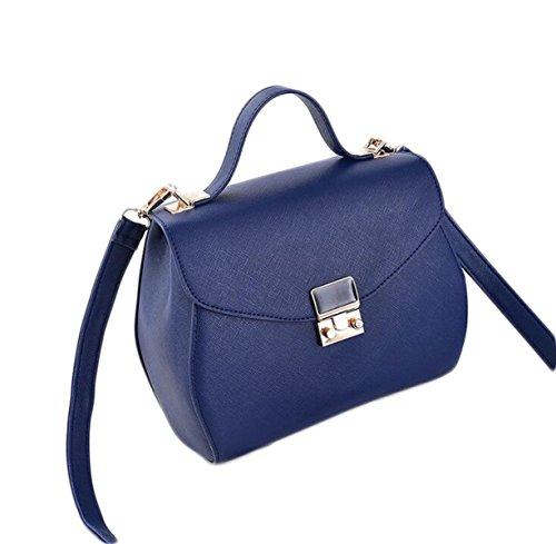 Borsa Borse Di Modo Borsa A Tracolla Messenger Bag Casuale Regalo Di Natale Blue