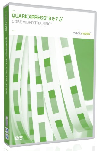 QuarkXpress 8 & 7 Core Video Training (Mac/PC DVD) Test