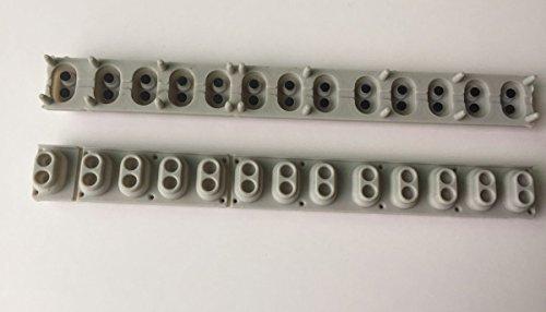 Tastiera a tastiera digitale Gambe di contatto in gomma Sostituzione 2 pezzi