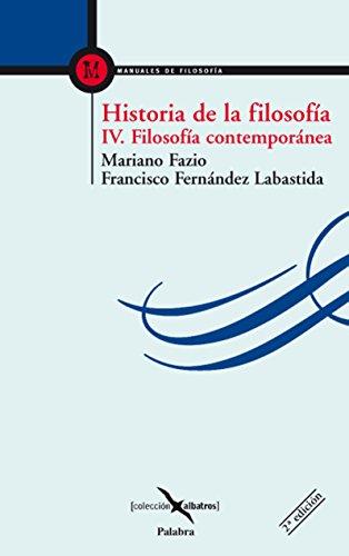 Historia de la filosofía IV (Albatros)