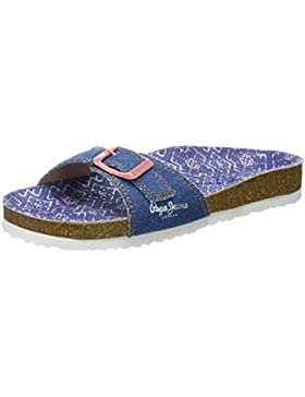 Pepe Jeans London Bio Denim Girl, Sandalias Niñas