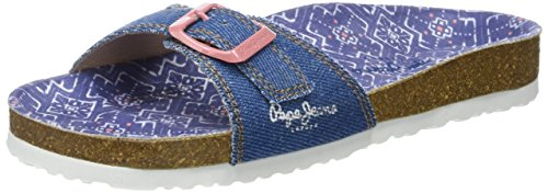 Pepe Jeans Bio Denim Girl, Sandales Fille