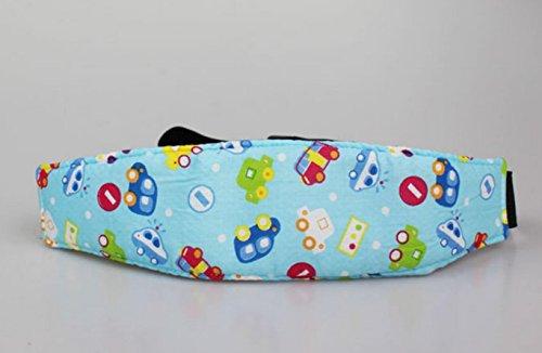 Dersoning Ceinture de sommeil pour bébé pour siège de voiture pour tout-petit (Bleu)
