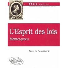 De l'Esprit des lois, Montesquieu