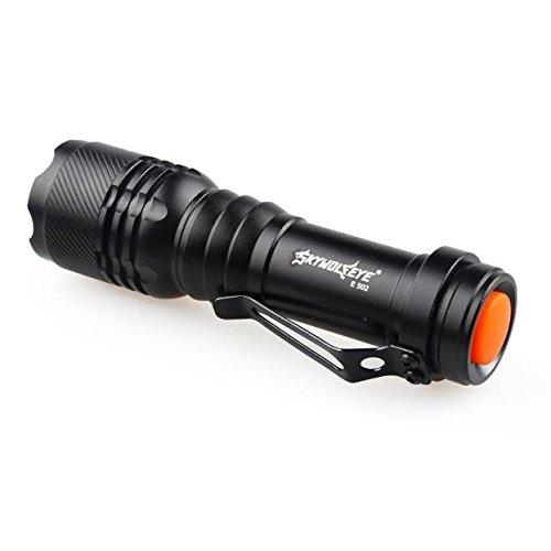 Preisvergleich Produktbild happytop Taschenlampe, 3Modi Zoomable LED Taschenlampe Q5AA/14500Schlüsselanhänger Mini Taschenlampe