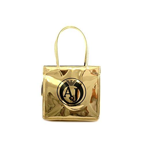 7a7cc9f5fe ARMANI JEANS donna borsa shopping 922162 6A735 00961 usato Spedito ovunque  in Italia