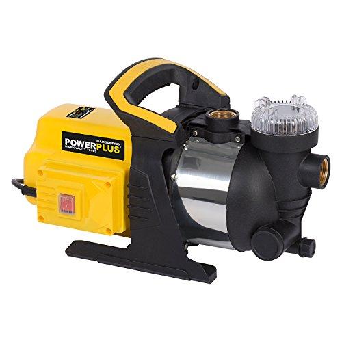 Powerplus Gartenpumpe Wasserpumpe 1000 W Teichpumpe 3500 l/h Frischwasser Pumpe