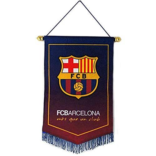 Sportky Football Club Flaggen Fußball Vertikale Banner Flagge Indoor und Outdoor Fahnen Bar Club Schlafzimmer Dekoration Hängende Flaggen, FC Barcelona, 38 * 24cm(15 * 9.4 inch) -