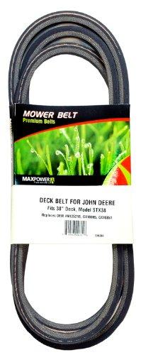 Maxpower 336384Rasenmäher Gürtel für John Deere Modelle m125218, gx10065und gx10851