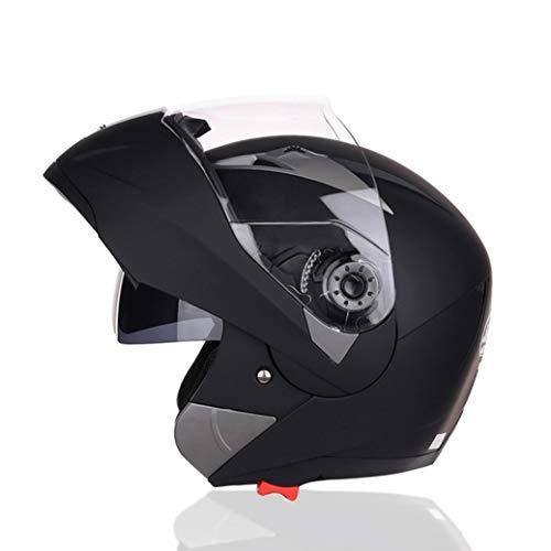 Casco Moto Modulare Modulare Anteriore Apribile Casco Integrale/Aperto Casco Moto Doppia Lente Uomo Donna Casco Protettivo Da Cors