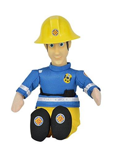 Preisvergleich Produktbild Simba Toys 109252107 Plüschfigur mit Vinylkopf - Feuerwehrmann Sam