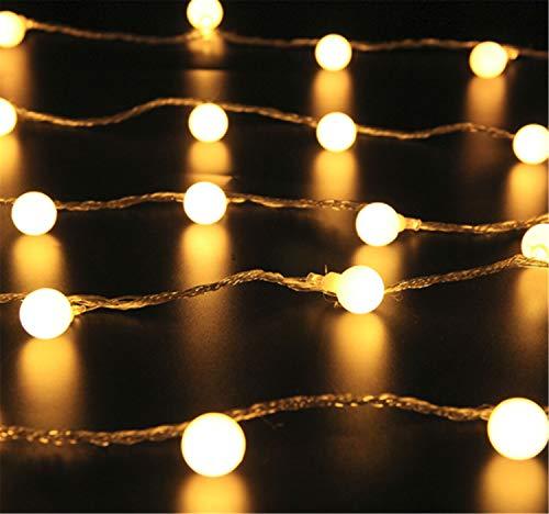MS.REIA Warm White String Lights, LED Gypsophila Licht, Energieeinsparung Home Hotel Schaufenster Anhänger Dekor Weihnachten mehrere Größe