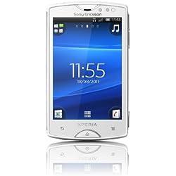 "Sony Ericsson Xperia mini Smartphone Écran tactile 7,6 cm (3"") Appareil photo 5 Mpx Android 2.3 Blanc (Import Allemagne)"