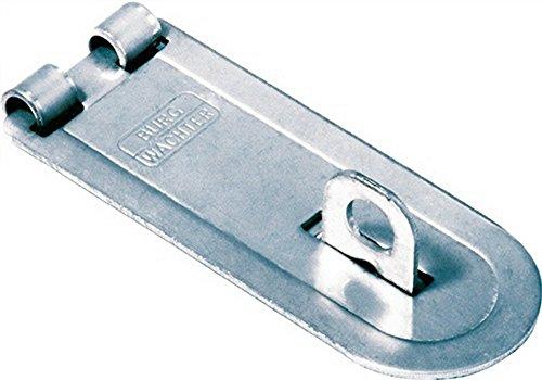 BURG-WÄCHTER Sicherheits-Vorrichtung für Vorhängeschloss, Für flächenbündige Türen, Panzer-Überfalle PCC 60 SB