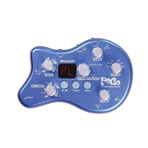 Mooer pOGO-pédale d'effets pour guitare électrique avec accordeur et