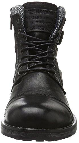 Mustang 4865-506, Bottes Classiques Homme Noir (9 schwarz)