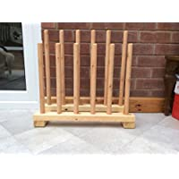 boot rack, for 6 pairs treated with danish oil, arrives fully assembled